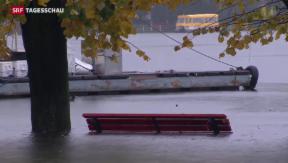 Video «Lago Maggiore knapp unter Höchststand aller Zeiten» abspielen