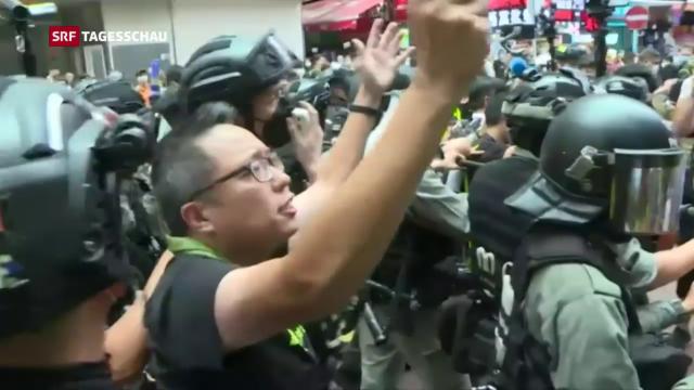 USA erwägen Abschaffung von Privilegien für Hongkong