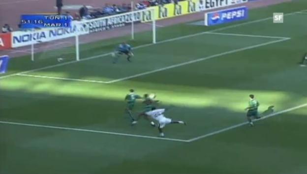 Video «Sternstunde für den tunesischen Fussball: der Final des Afrika Cups 2004.» abspielen