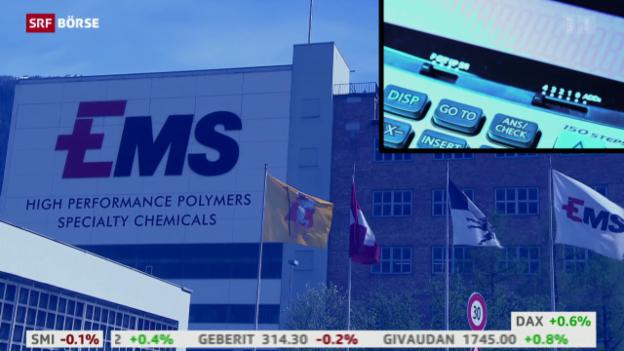 Video «SRF Börse vom 19.10.2015» abspielen