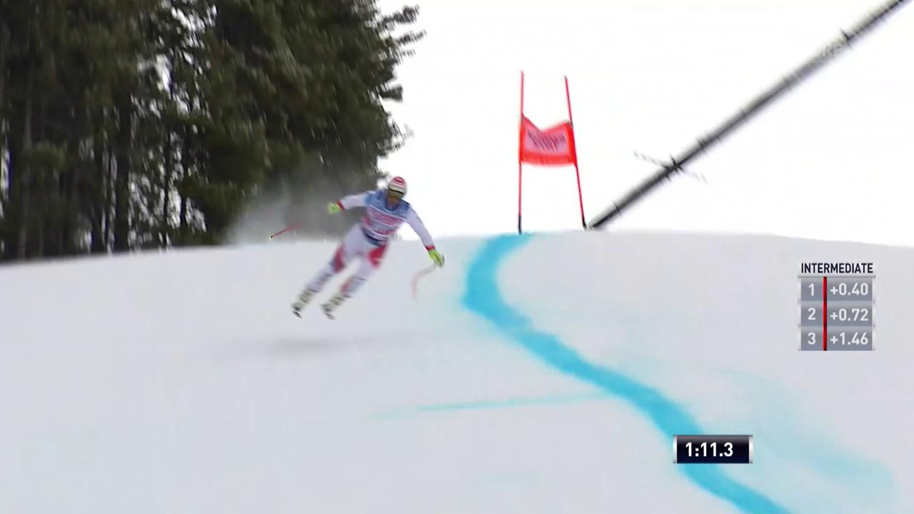 Die Trainingsfahrten der Schweizer