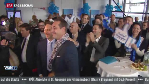 Video «FPÖ verdoppelt Wähleranteil» abspielen