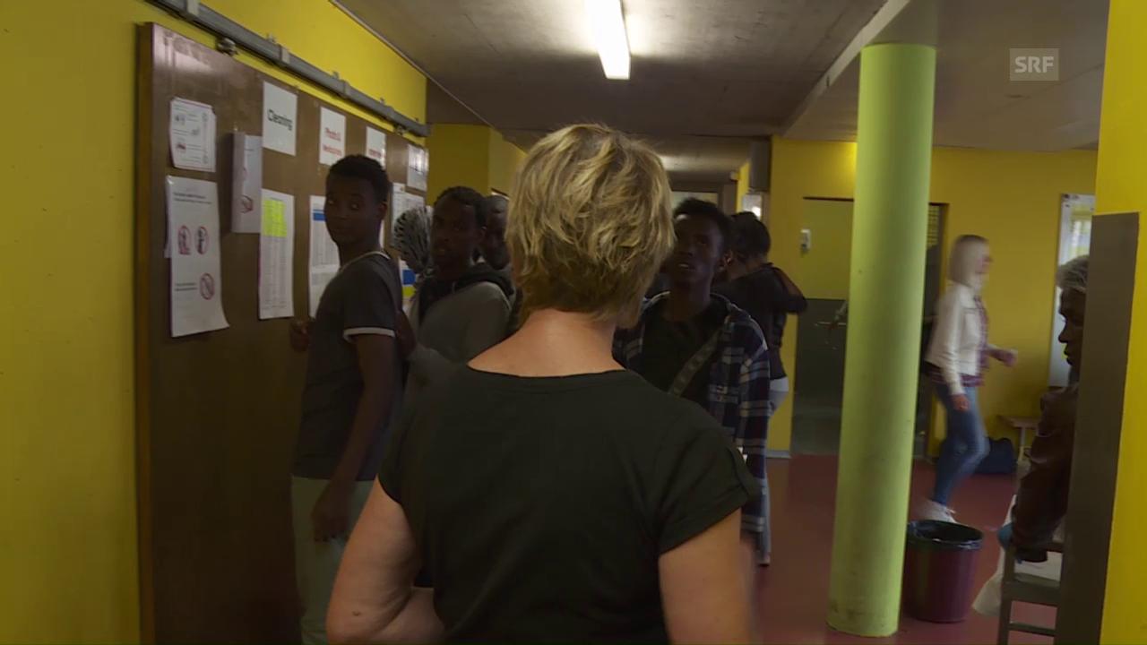 Alltag im Asylempfangszentrum