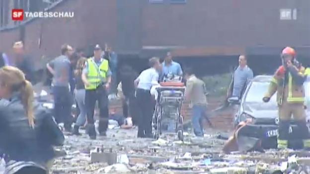 Video «Bombenanschlag in Oslo» abspielen