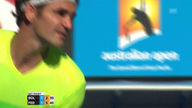 Video «Satzball für Federer» abspielen