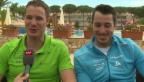 Video «Dario & Gianluca Cologna: Kleine Rivalitäten unter Brüdern» abspielen