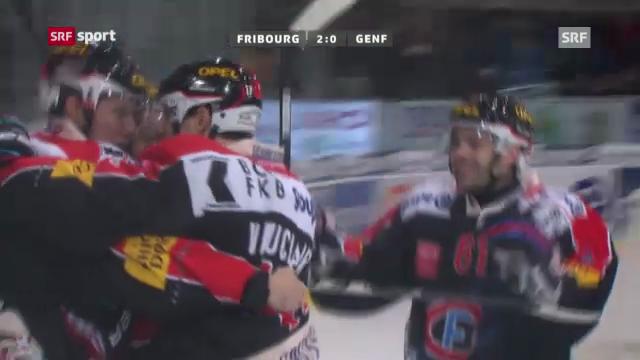 Eishockey: Fribourg-Genf