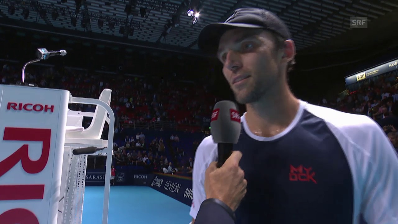 Tennis: ATP Basel, Interview Karlovic