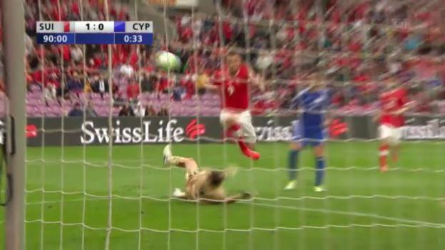 Video «Highlights Schweiz - Zypern («sportlive»)» abspielen