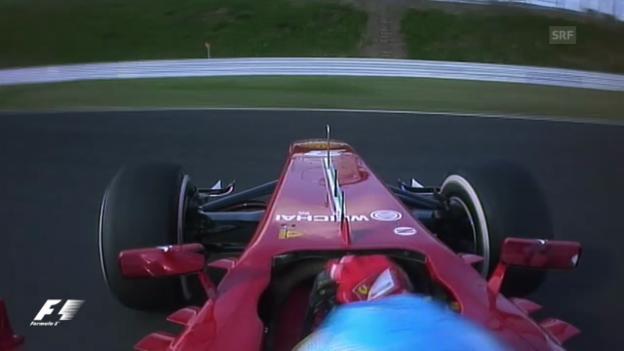 Video «Dreher von Fernando Alonso (unkommentiert)» abspielen