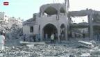 Video «Israel sucht nach vermisstem Soldaten» abspielen