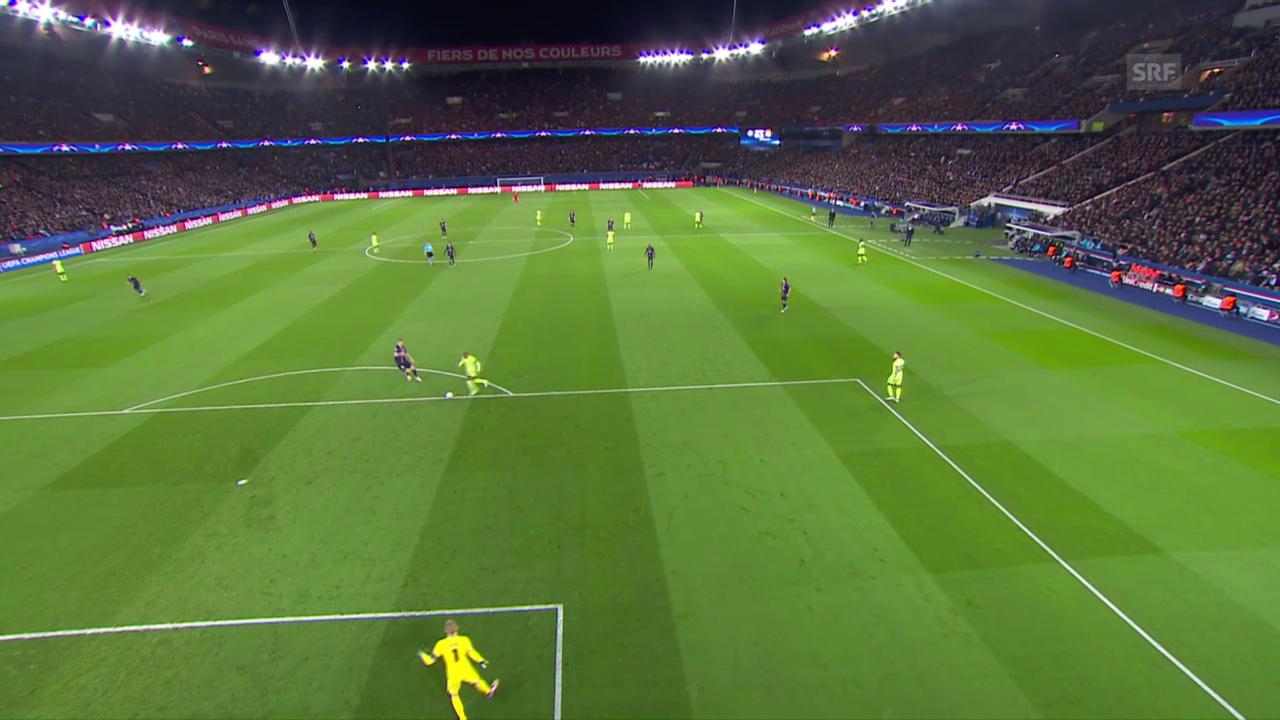 Ibrahimovic schiesst im CL-Viertelfinal-Hinspiel gegen Manchester City den 1:1-Ausgleich