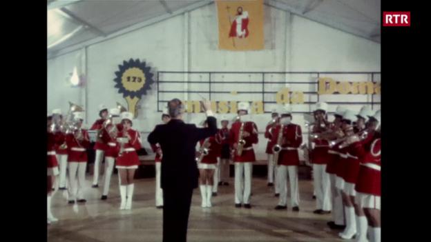 Laschar ir video «Giubileum da 175 onns musica da Domat»
