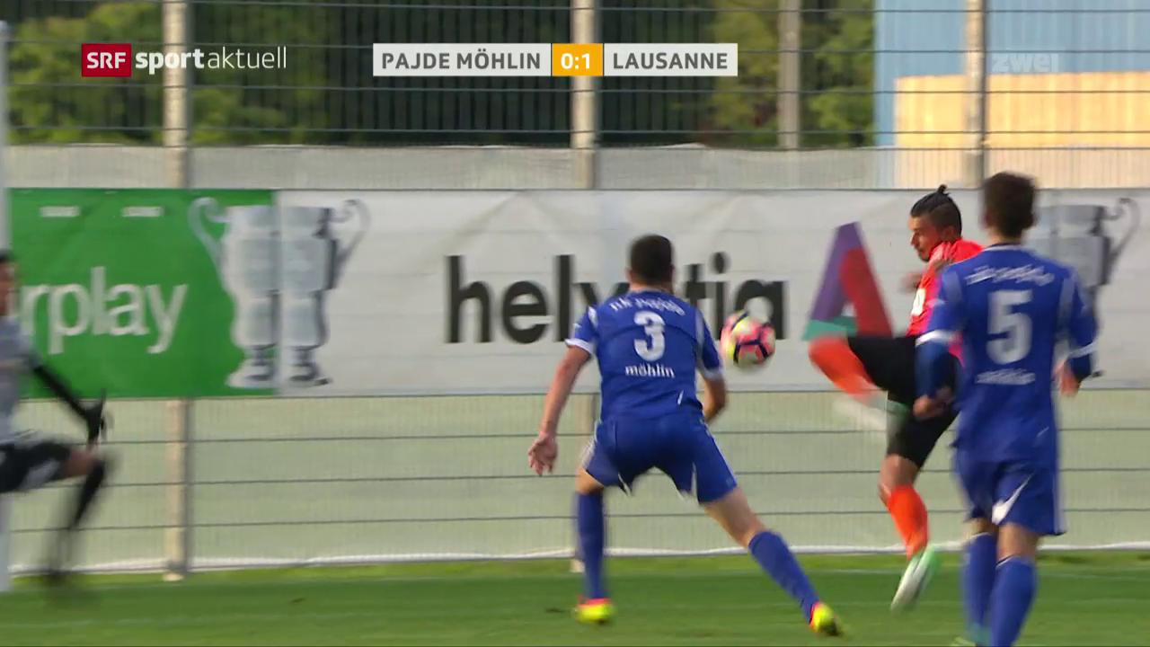 Lausanne entgeht gegen Pajde Cup-Blamage