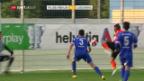 Video «Lausanne entgeht gegen Pajde Cup-Blamage» abspielen