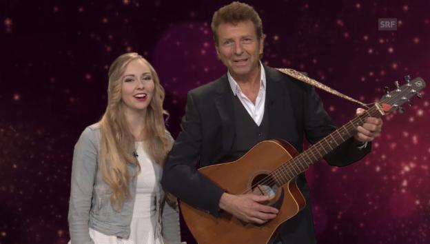Video «4. Dezember: Ein Privatkonzert von Bo Katzman und Tochter Ronja» abspielen