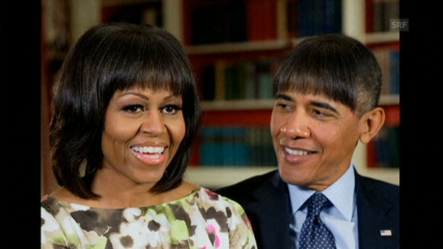 Video «Obamas humoristische Einlage Teil 1» abspielen