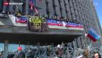 Video «Russische Fahnen dominieren Ost-Ukraine» abspielen