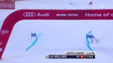 Video «Ski: Riesenslalom Alta Badia, Loic Meillard, 1. Lauf» abspielen