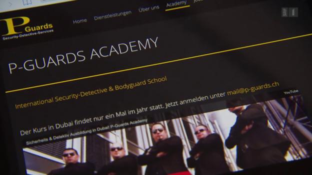 Video «Reingelegte Bodyguards: Sicherheitsfirma ködert Stellensuchende» abspielen