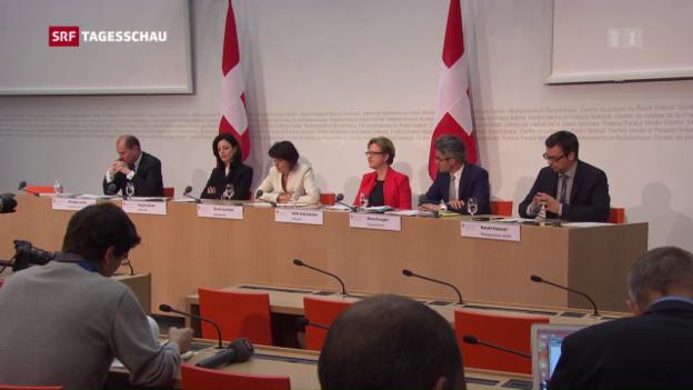 Video «Bundesrat lehnt «Service-Public»-Initiative ab» abspielen