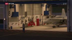 Video «8 Milliarden für die Luftwaffe» abspielen