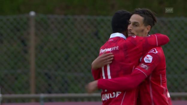 Video «6 Tore: Lugano mit starker 2. Halbzeit» abspielen