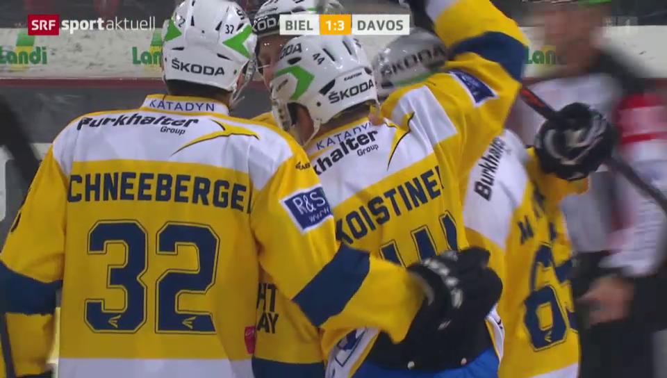 Eishockey: Koistinen trifft auswärts in Biel