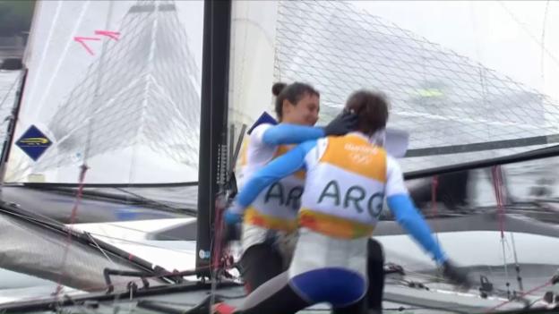 Video «Argentinien bejubelt Nacra-Gold» abspielen