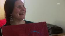 Video «Pina Dolce: «Malen ist eine Berufung.»» abspielen