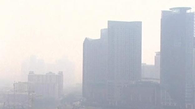 Video «Rauch hüllt Malaysia ein (unkomm.)» abspielen