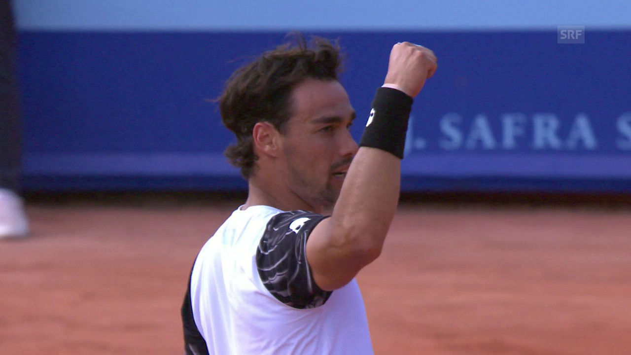 Fognini mit Spektakel-Tennis im Gstaad-Final