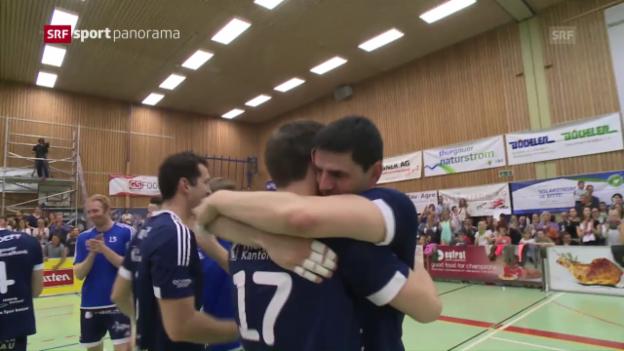 Video «Amriswil fehlt noch ein Sieg zum Titel» abspielen
