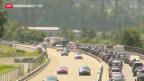 Video «Ferienstau am Gotthard» abspielen