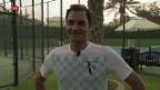 Video «Roger Federer an der Schwelle einer neuen Saison» abspielen
