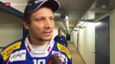Video «Eishockey: Klotens Routinier Marcel Jenni glänzt in den Playoffs («sportpanorama»)» abspielen