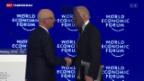 Video «Weltwirtschaftsforum in Davos eröffnet» abspielen