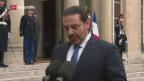 Video «Hariri bald wieder in Libanon» abspielen