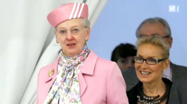 Video «Königin Margrethe redet über Prinz Friso» abspielen