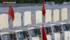Video «Misstrauen gegen russische Hilfslieferungen» abspielen