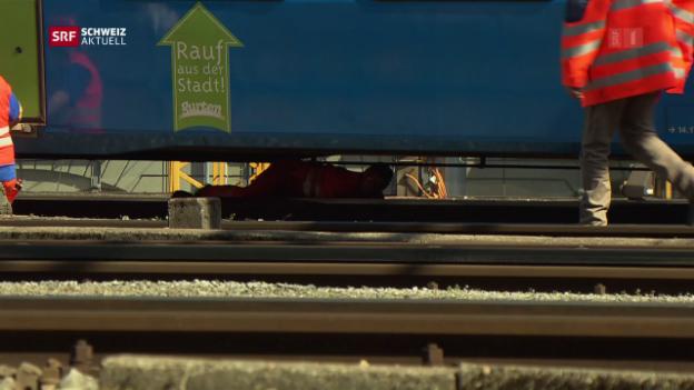 Video «Kritik an SBB-Infrastruktur» abspielen