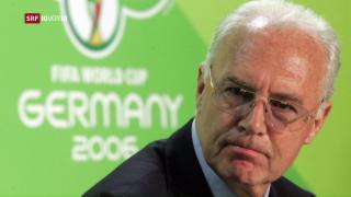 Video «Bundesanwaltschaft nimmt Beckenbauer ins Visier» abspielen