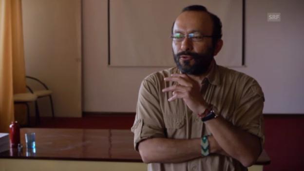 Video «Der Wolkenbibliotheken-Projektleiter vergleicht den Verstand mit einem Acker» abspielen
