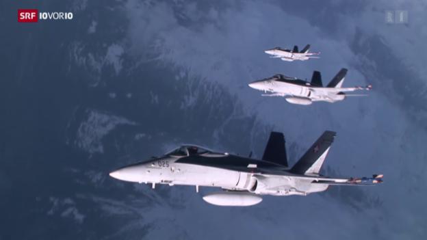 Video «Bundesrat nimmt neuen Anlauf für Kampfjet-Kauf» abspielen