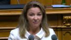 Video «Laut Barbara Schmid-Federer gibt es auch Gründe dafür» abspielen