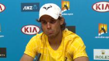 Video «Solche Mundwinkel sieht man bei Nadal selten» abspielen