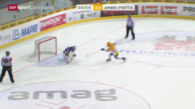 Video «Spielbericht Davos - Ambri («sportpanorama»)» abspielen
