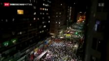 Video «Strassenschlachten in Brasilien gehen weiter» abspielen