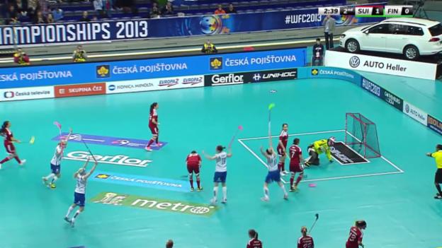 Video «Tore Schweiz - Finnland» abspielen