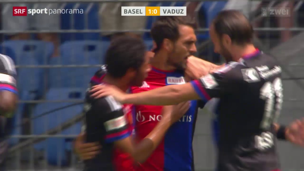 Fussball: Super League, Basel-Vaduz